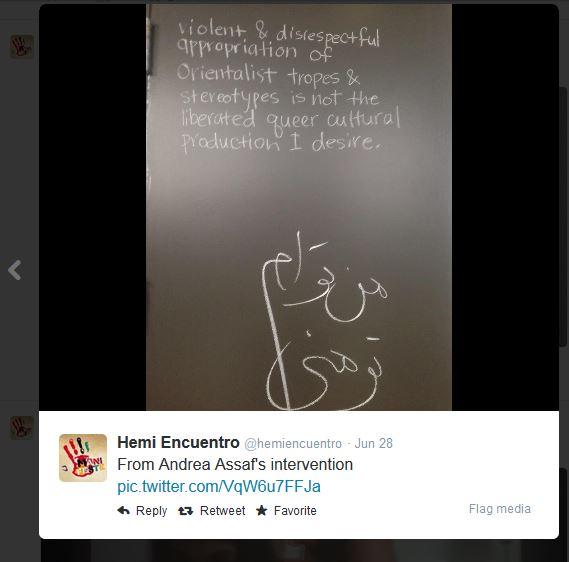 Hemi Intervention Tweet