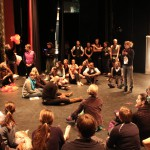 Dancealorus Rehearsal, photo credit: Quinn Blake
