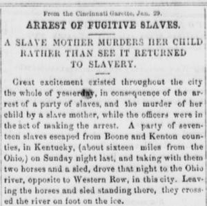 Anti-slavery Bugle. (New-Lisbon, Ohio), 02 Feb. 1856, Ohio History Connection. Chronicling America: Historic American Newspapers. Lib. of Congress.