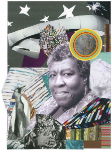 """""""My My My"""" Collage for Octavia Butler by Alexis Pauline Gumbs."""