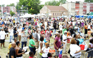 Thousands of West Baltimore community members came out to ROOTSFest 2011.