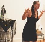 "Jennifer Pagan in ""Shoebox Lounge."" Photo: Abdul Aziz, June 2015."
