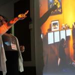 "Michelle Gomez speaks of her work ""Devociones y Fe"" (Devotions and Faith)."