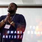 Omari Fox gives a taste of his poetic medicine.