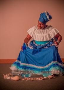 """Junebug Production's """"Gomela"""" was the final performance of this year's ROOTS Week. Photo: Melisa Cardona, 2015."""