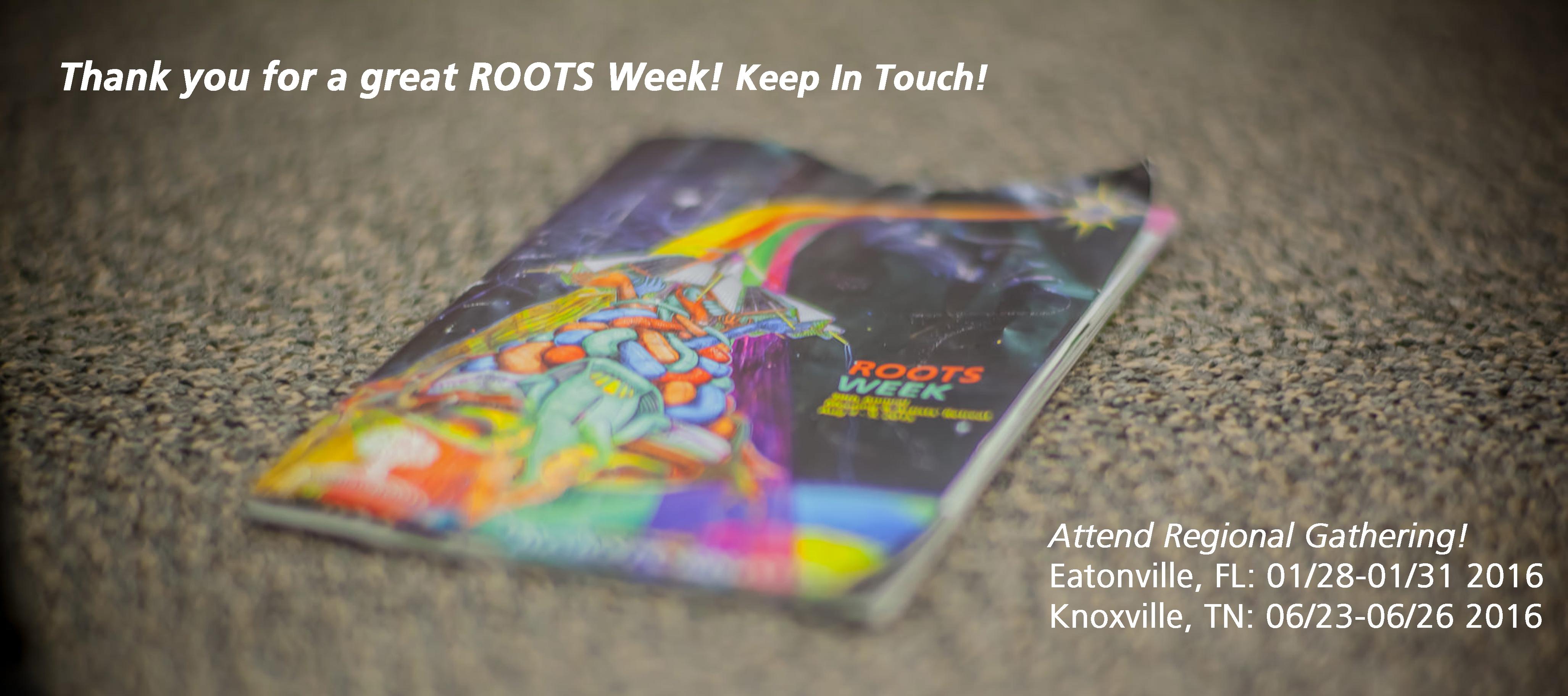 ROOTS Week 2015
