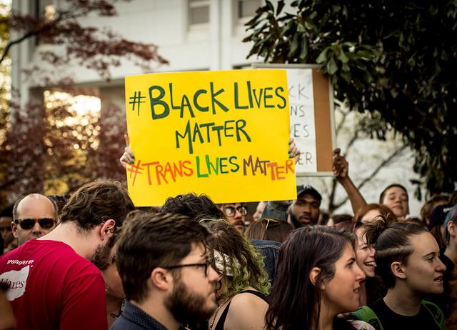 #BlackLivesMatter, #TransLivesMatter