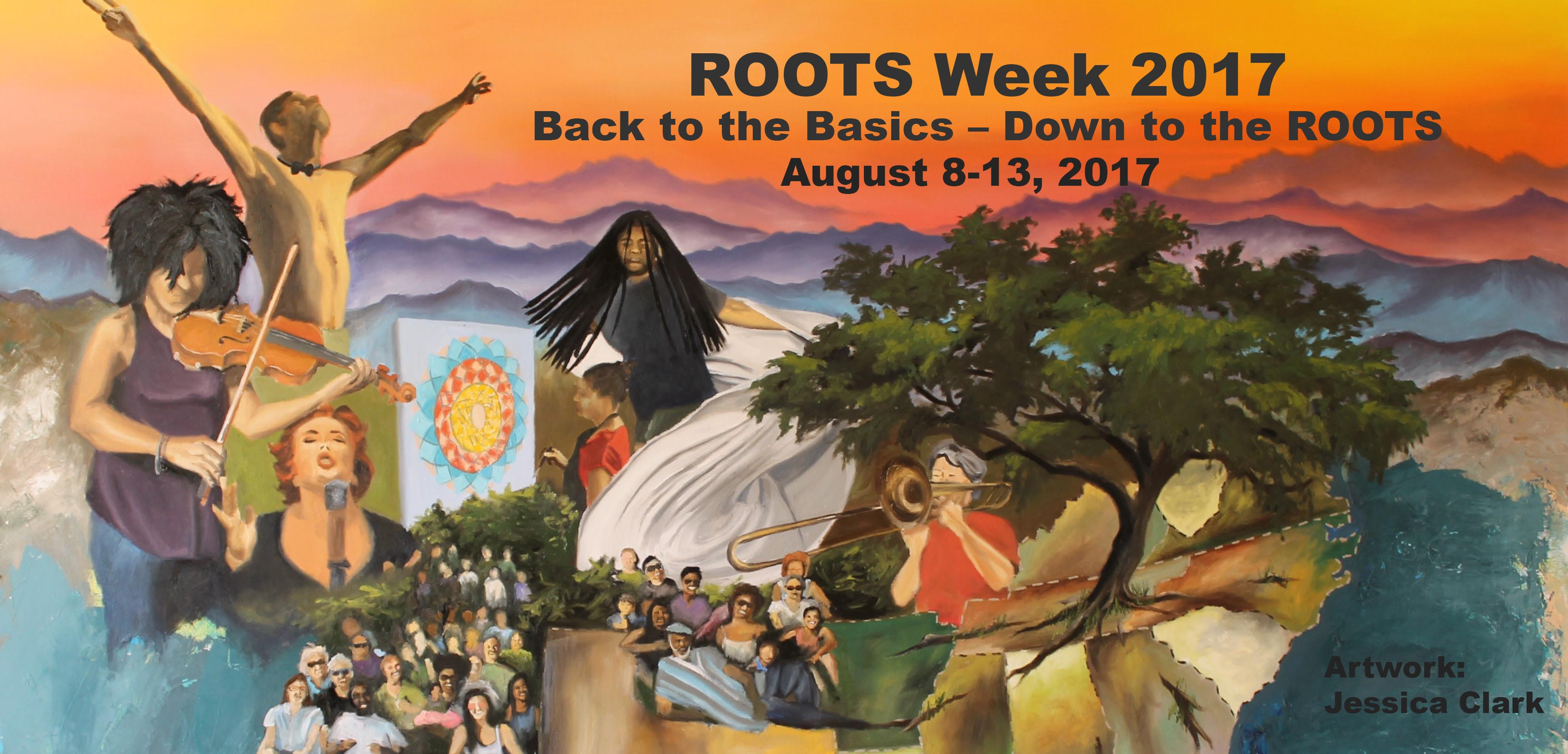 ROOTS Week Overview Schedule is now posted!